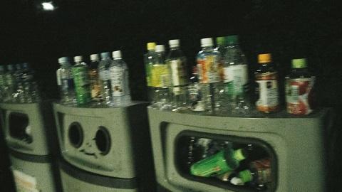 ペットボトルゴミ