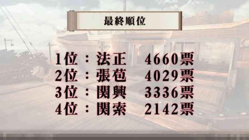 無双斬 公式生放送1213武将アンケート